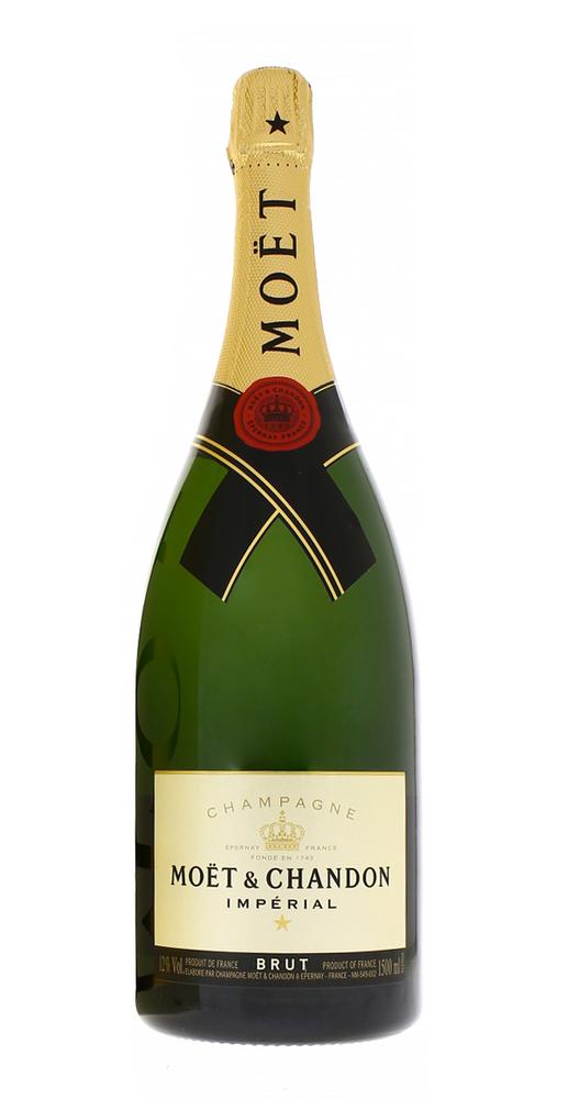 Шампанское Moet et Chandon Brut Imperial Magnum в большой бутылке Моет Шандон Брют Империал 1.5 л.