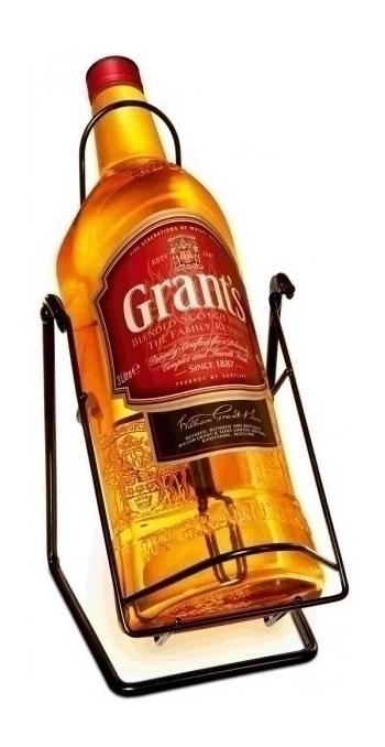 Виски Grants на качелях большая бутылка виски Грантс 3 литра