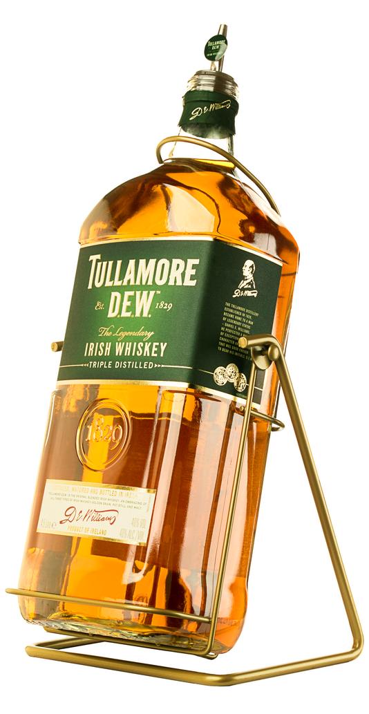 Виски Tullamore Dew на качелях большая бутылка виски Талламор Дью 4.5 литра