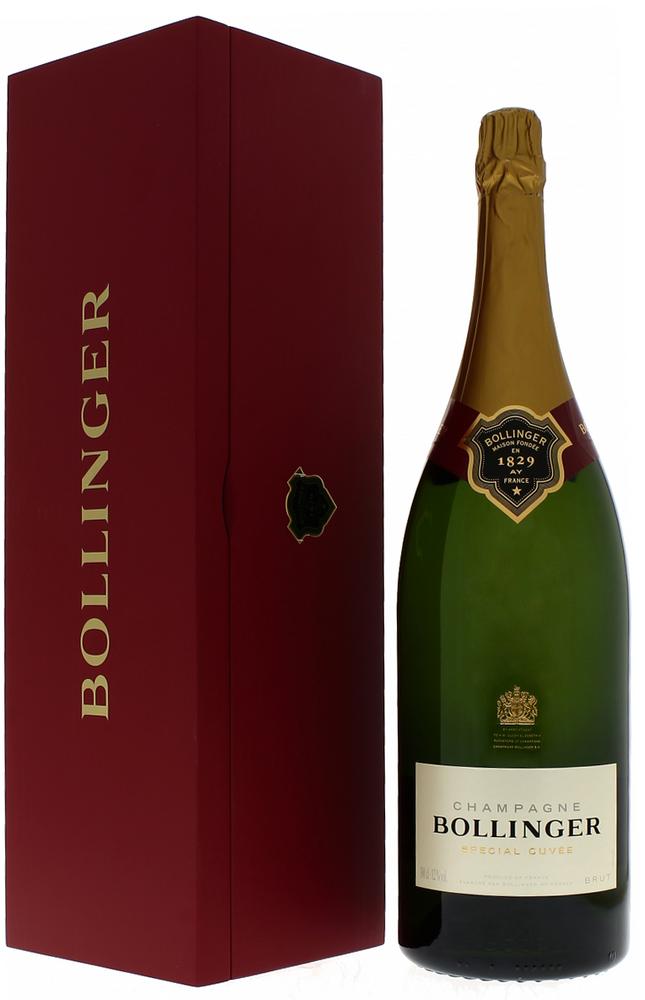 Шампанское Bollinger Special Cuvee Brut в большой бутылке шампанское Болланже Спесьяль Кюве Брют 3 л.